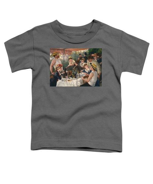 Luncheon Of The Boating Party Toddler T-Shirt