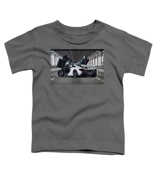 #mclaren #p1 #print Toddler T-Shirt