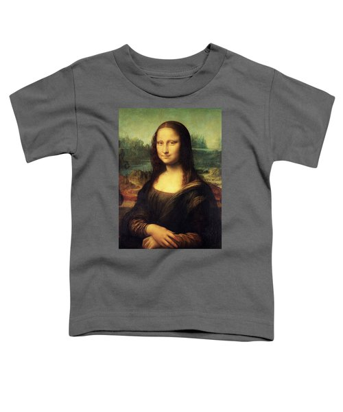 Mona Lisa Toddler T-Shirt