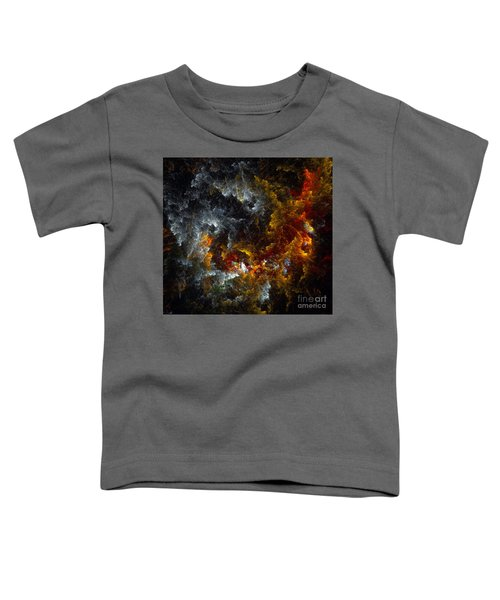 Multicolored Abstract Figures Toddler T-Shirt