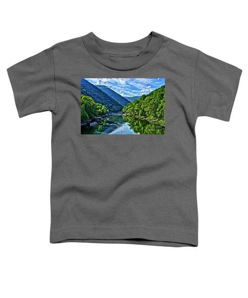 New River Gorge National River Toddler T-Shirt