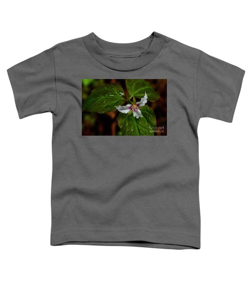 Toddler T-Shirt featuring the photograph Painted Trillium  by Thomas R Fletcher