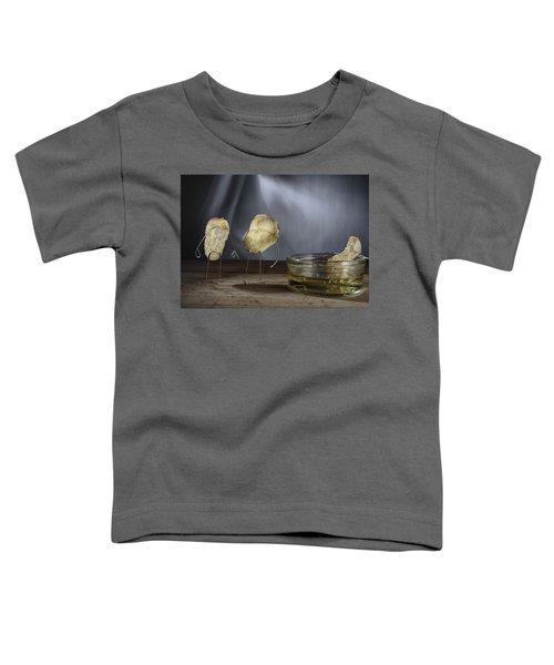 Simple Things - Potatoes Toddler T-Shirt by Nailia Schwarz