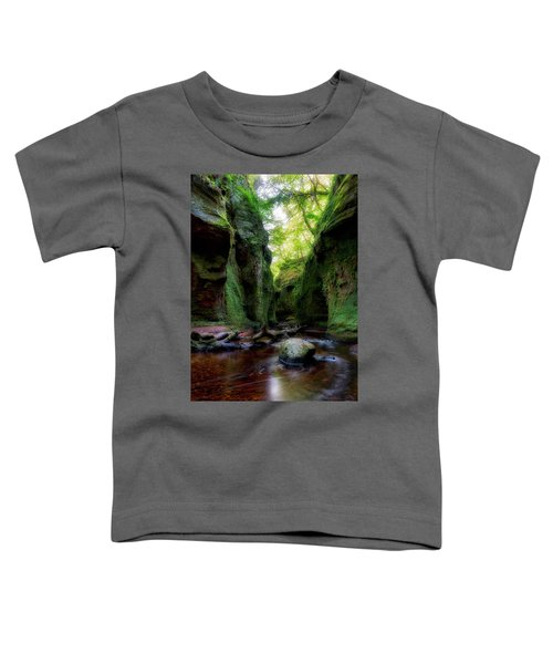 The Devil Pulpit At Finnich Glen Toddler T-Shirt