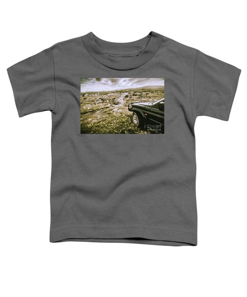 4wd On Offroad Track Toddler T-Shirt