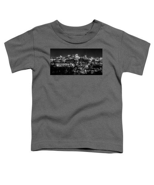 Birmingham Alabama Evening Skyline Toddler T-Shirt