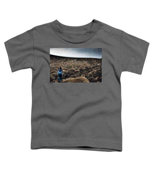 Etna, Red Mount Crater Toddler T-Shirt