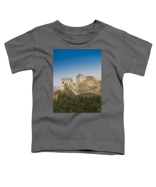 Great Wall Of China - Jinshanling Toddler T-Shirt