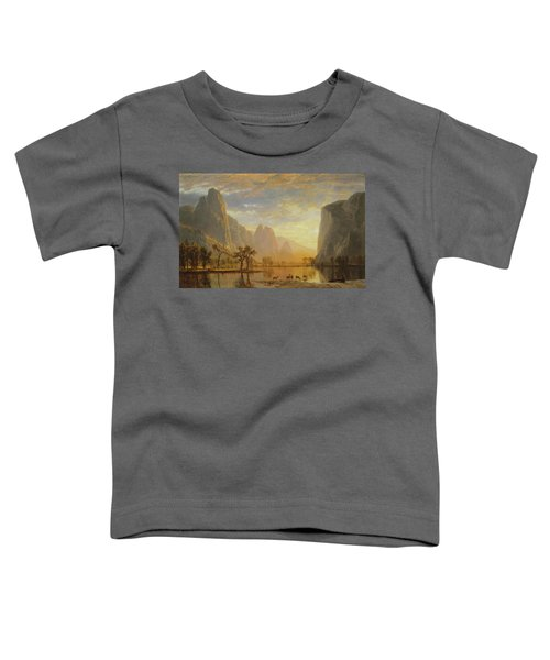 Valley Of The Yosemite Toddler T-Shirt