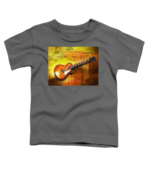 55 Sunburst Toddler T-Shirt by Gary Bodnar