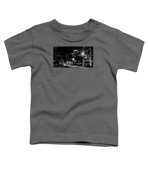 Birmingham Alabama Evening Skyline Toddler T-Shirt