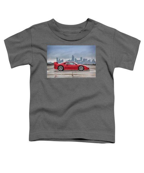 #ferrari #f40 #print Toddler T-Shirt