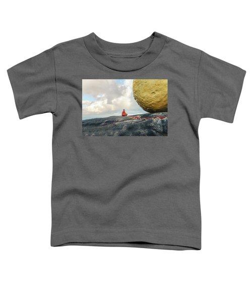 Golden Rock - Myanmar Toddler T-Shirt