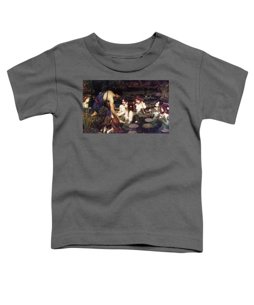 Hylas And The Nymphs Toddler T-Shirt
