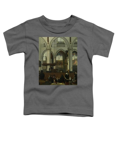 The Interior Of The Oude Kerk, Amsterdam Toddler T-Shirt