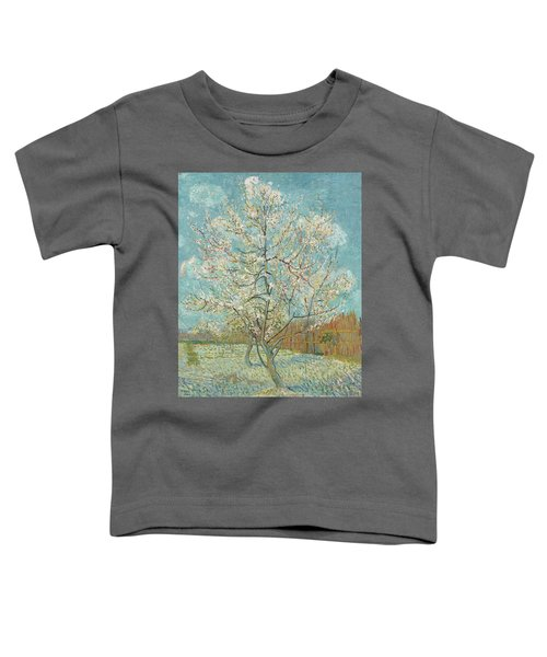 The Pink Peach Tree Toddler T-Shirt