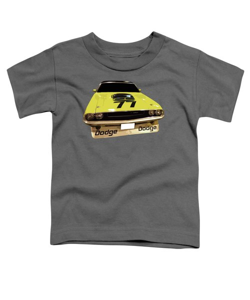 77 Yellow Dodge Toddler T-Shirt