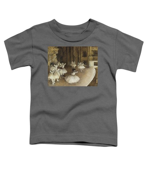 Ballet Rehearsal On Stage Toddler T-Shirt