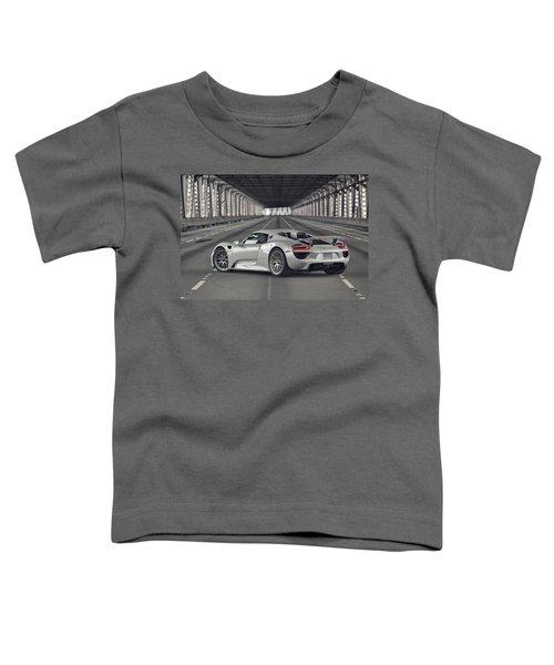 Porsche 918 Spyder  Toddler T-Shirt