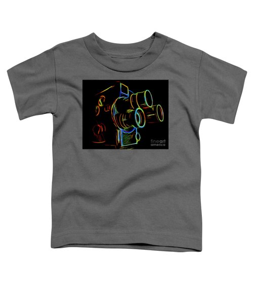 8mm In Neon Toddler T-Shirt