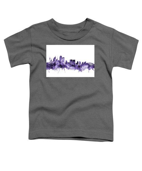Sydney Australia Skyline Toddler T-Shirt