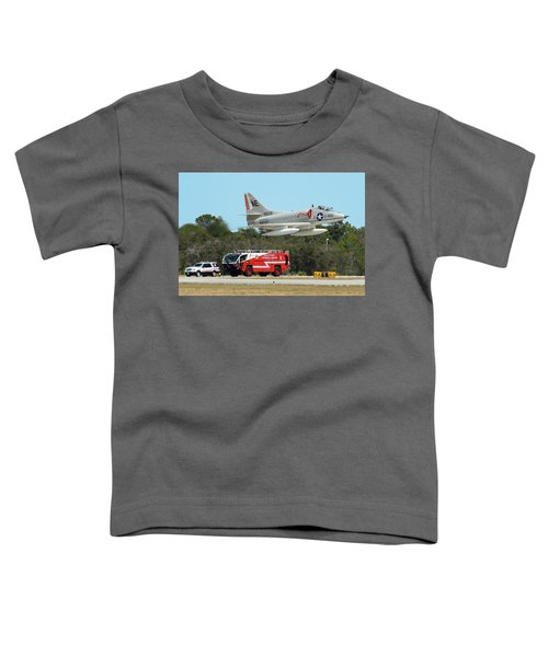 A-4 / Firetruck Toddler T-Shirt
