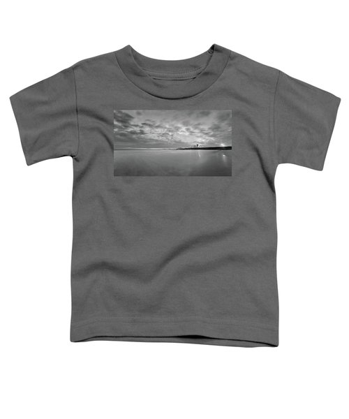 A Beach And A Bunch Of Boats Toddler T-Shirt