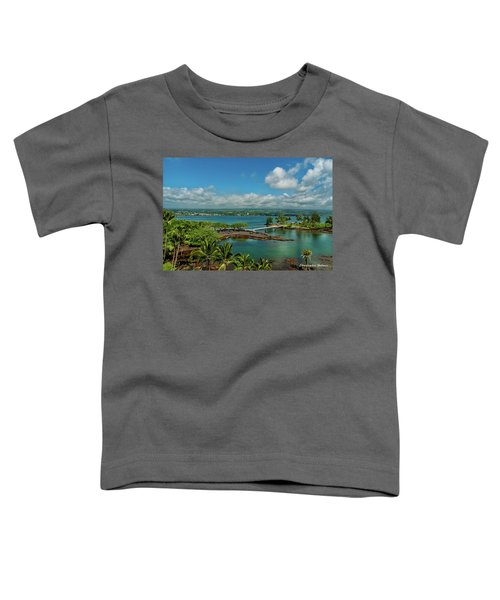 A Beautiful Day Over Hilo Bay Toddler T-Shirt