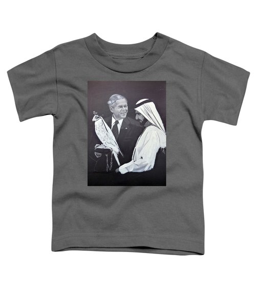 A Bird In The Hand Is Worth Two In The Bush Toddler T-Shirt