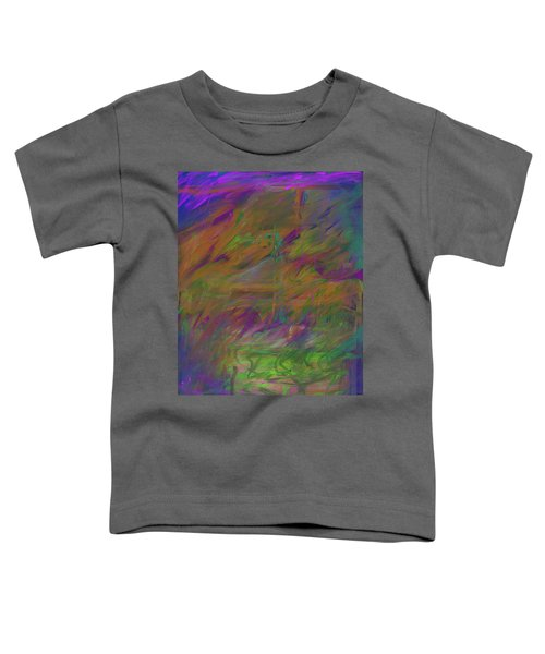 A Brush With The Edge Toddler T-Shirt