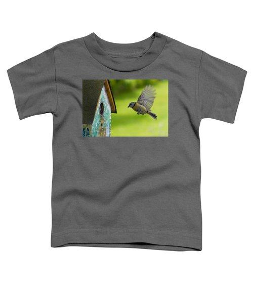 A Busy Blue Tit Mum Toddler T-Shirt