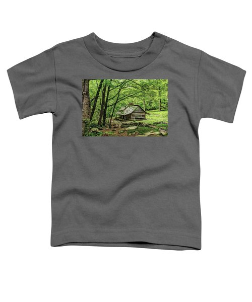 A Cabin In The Woods Toddler T-Shirt