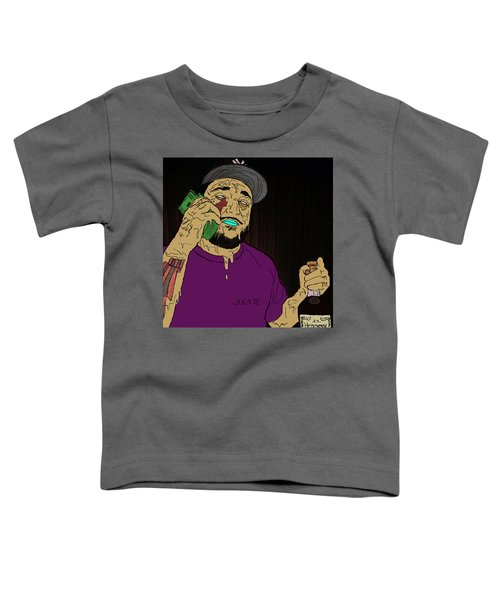 Toddler T-Shirt featuring the digital art a by Chief Hachibi
