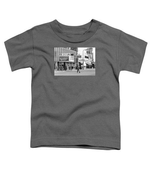 A Clockwork Orange At The World Theater Toddler T-Shirt