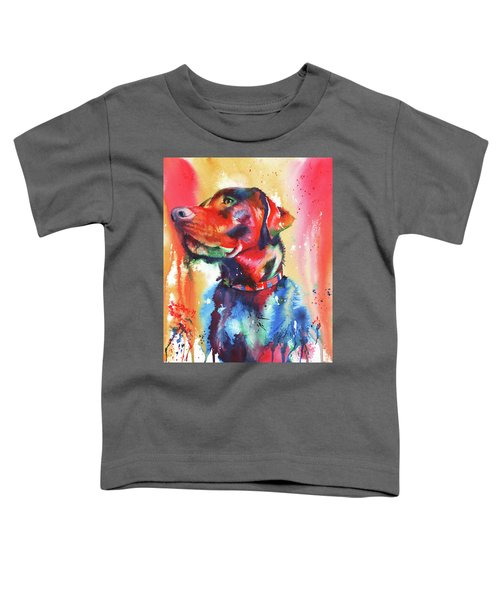 A Coat Of Many Colours - Labrador Toddler T-Shirt