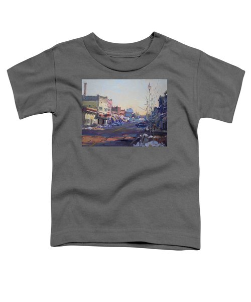 A Cold Sunny Day At Webster St Toddler T-Shirt