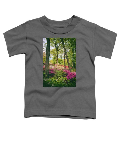 A Colorful Hillside Toddler T-Shirt