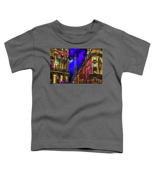 A Corner In Paris Toddler T-Shirt