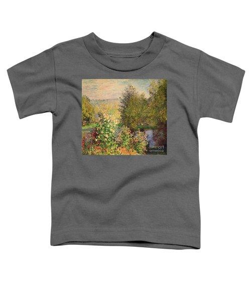 A Corner Of The Garden At Montgeron Toddler T-Shirt