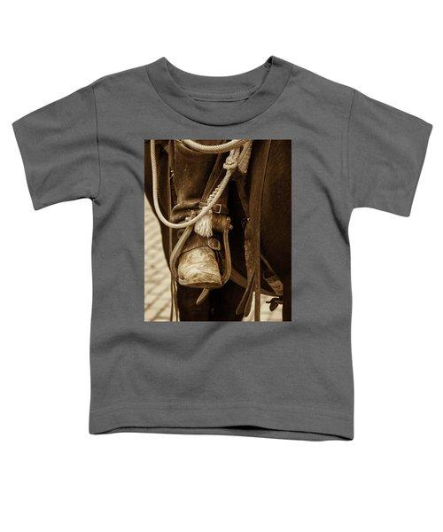 A Cowboy's Boot Toddler T-Shirt