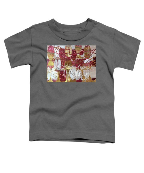 A Dance Of Rubies And Old Gold Toddler T-Shirt