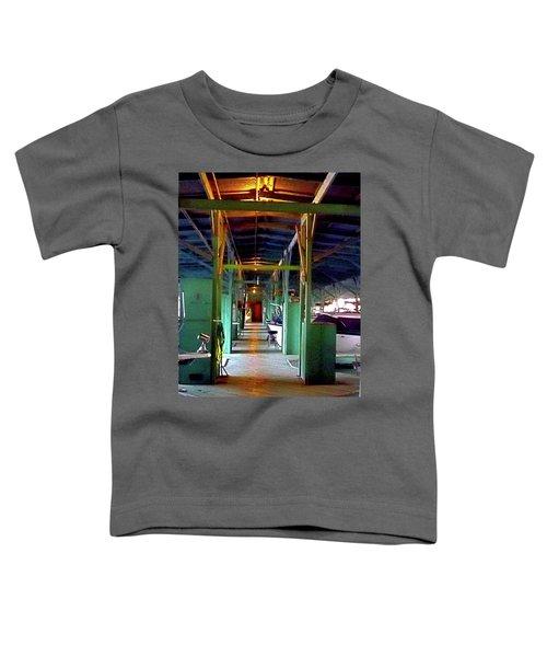A Delta Boat Shed Toddler T-Shirt