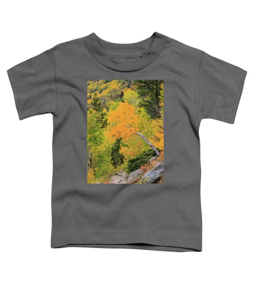 Toddler T-Shirt featuring the photograph Yellow Drop by David Chandler