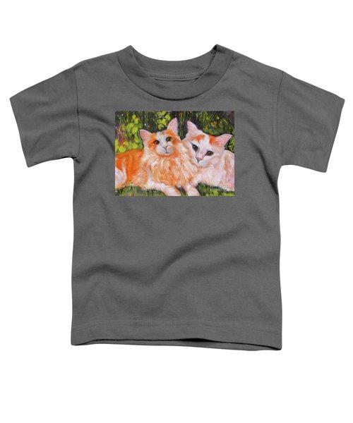 A Duet Of Kittens Toddler T-Shirt