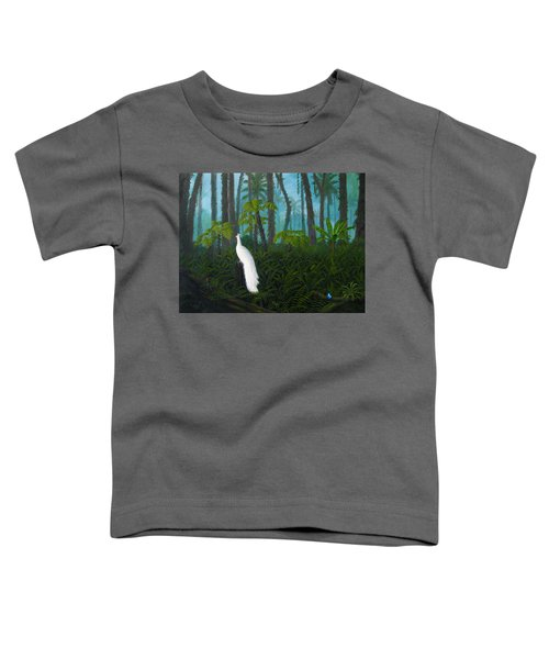 A Fantasy In White Toddler T-Shirt