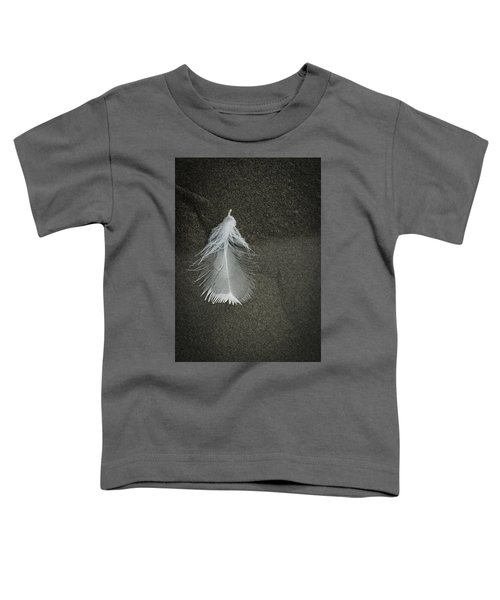 A Feather At The Edge Of The Water Toddler T-Shirt