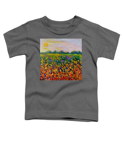 A Field Of Flowers #1 Toddler T-Shirt