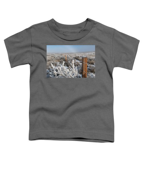A Frosty And Foggy Morning On The Way To Steamboat Springs Toddler T-Shirt