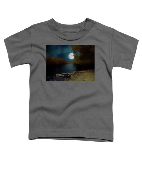 A Full Moon On A River. Toddler T-Shirt