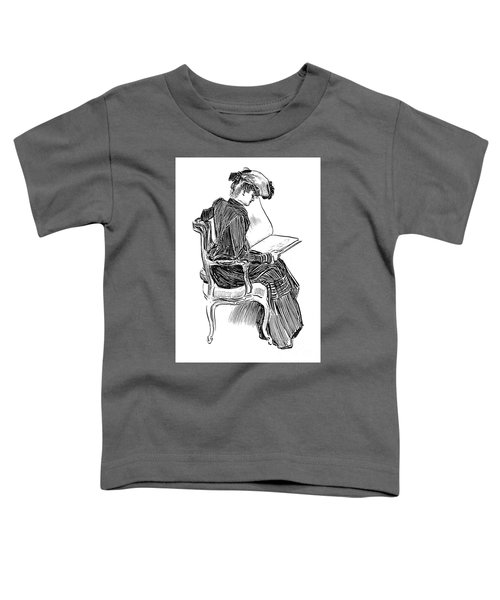 A Gibson Girl, Circa 1902 Toddler T-Shirt